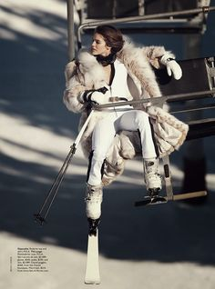 let it snow: emily didonato by benny horne for vogue australia june 2014 | visual optimism; fashion editorials, shows, campaigns & more!