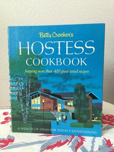 Betty Crocker Hostess Cook Book Vintage