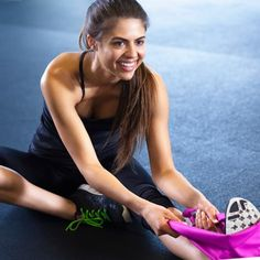 Post-workout stretches are key to keeping your body toned and flexible.