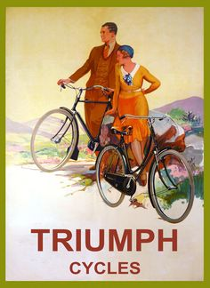 Michigan Bicycle Cycle Riding Roads Sport US 16X20 Vintage Poster Repro FREE S//H