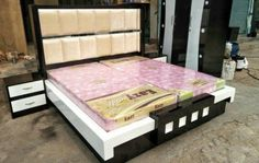 """Putting The """"Living"""" Into Your Living Room Furniture Box Bed Design, Bedroom Bed Design, Bedroom Furniture Design, Home Room Design, Bed Furniture, Sofa Design, Bedroom Decor, Bad Room Design, Bedroom Designs Images"""
