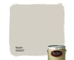 Dunn-Edwards Paints paint color: Muslin DE6227   Click for a free color sample #DunnEdwards