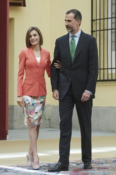 Queen Letizia of Spain Photos Photos - King Felipe VI of Spain and Queen Letizia of Spain attend the Bicentenary of the Council of the Greatness of Spain at the El Pardo Palace on June 16, 2015 in Madrid, Spain. - Spanish Royals Attend the Bicentenary of the Council of the Greatness of Spain