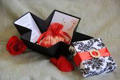 cajitas para invitaciones de boda - Buscar con Google