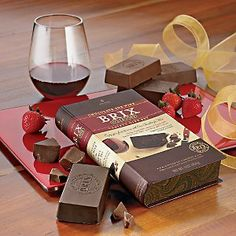 Brix Chocolate for Wine 4 Variety Gift Set Collection - http://bestchocolateshop.com/brix-chocolate-for-wine-4-variety-gift-set-collection/