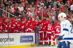 Red Wings Grinder: Game #3 - Red Wings vs. Bolts 3:1 - recap