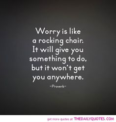 A Rocking Chair | The Daily Quotes