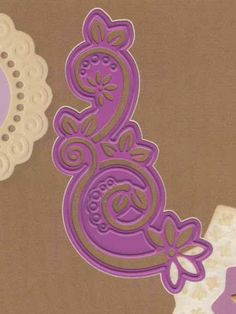 Joy! Crafts Dies - Fancy Swirl
