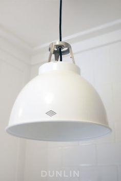Original BTC Titan 1 Pendant Light. White