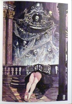Erotismo e Trionfi della morte (Milo Manara)