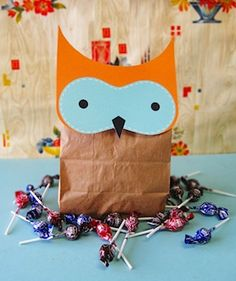 Party favors or activity for students while we study owls.