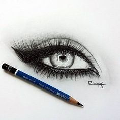 How to Draw an EYE (15)