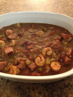 A few years ago I made a shrimp and sausage gumbo that was soooo good. For the life of me I could not find the original recipe as the link I saved in my favorites no longer worked. After searching ...