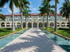 Casa Marina Resort, Key West, Fla.  Opened in 1920, this historic hotel was planned by railroad tycoon Henry Flagler as a tropical destination for well-to-do passengers of his Overseas Railroad.
