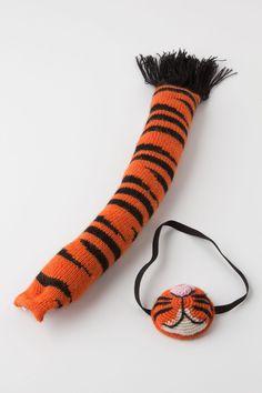 Tiger Mask & Tail Set - Anthropologie.com