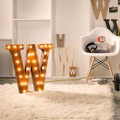 Fancy - Vintage Marquee Letter Lights