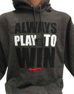 Basketball Hoodie Always play to Win Basketball Tricks, Basketball Is Life, Basketball Quotes, Sports Basketball, Basketball Players, Basketball Outfits, Sports Handicappers, Ncaa Softball, Basketball Couples