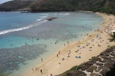 Hanauma Bay Attractions in Honolulu:  Read reviews written by 10Best experts and explore user ratings. Created from a collapsed volcano crater, this bay is protected and calm, ideal for snorkeling, as you'll see from the crowds around you. The snorkeling is truly amazing, since the preserve protects the wildlife and creates a favorite place for the fish to come eat. It offers great opportunity for viewing marine life and also boasts a terrific beach and hiking trails.   Additional…
