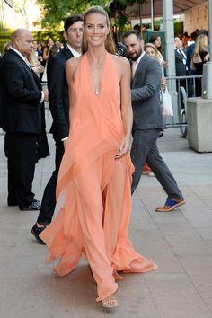 Heidi Klum at the CFDA Fashion Awards 2014