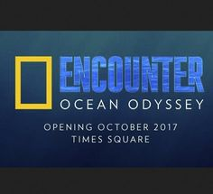 Win a $4,000.00+ trip for 2 to New York City includes airfare, 3 night hotel stay, tickets to the National Geographic Encounter Ocean Odyssey & Opening Night Party, tickets to a Broadway Production.