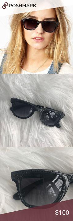 • Jimmy Choo • Glitter Black Sunglasses New - Carrera By Jimmy Choo - Glitter Sunglasses - Black - New with Tags - Comes with a Sunglasses case (not original) Jimmy Choo Accessories Sunglasses