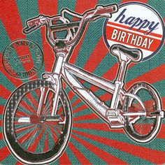 BMX Birthday Card for any teenager