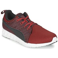 essentiele Puma carson runner knit heren sneakers (Zwart)