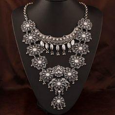 Collar de Aleación de Zinc,  beads.us