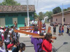 Via Crucis el Viernes Santo en Altagracia Isla de Ometepe