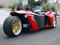 Three Wheel Roadster   Vanderhall Introduce Three-Wheel Roadster Prototype