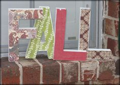 #9 - FALL Letters