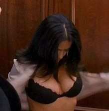 Image result for Salma Hayek Jiggly Cleavage GIF