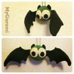 Free Amigurumi Batman Pattern : 1000+ images about Crochet Bats on Pinterest Bats ...