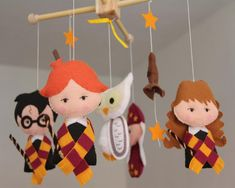 Check out our harry potter mobile selection for the very best in unique or custom, handmade pieces from our mobiles shops. Harry Potter Hermione, Harry Potter Diy, Classe Harry Potter, Harry Potter Nursery, Harry Potter Wizard, Baby Crib Diy, Baby Crib Mobile, Baby Cribs, Baby Mobiles