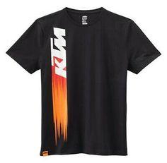 Creative T Shirt Design, Shirt Print Design, Tee Shirt Designs, Ktm Clothing, Fox Racing Clothing, Printed Shirts, Tee Shirts, Tees, Black Cotton