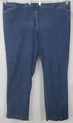 White Stag Jeans Size 22W  Relaxed Fit 47x30 Free Shipping #WhiteStag #Relaxed