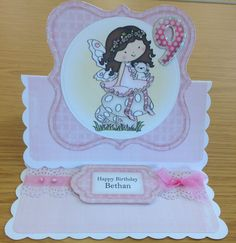 I used a Clipart Fairy download by Wendy Carr for this card