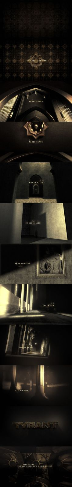 Creative title sequence design TYRANT main titles by Prodigal Pictures Graphic Design Typography, Branding Design, Art Of The Title, Web Design, Design Trends, Title Card, Title Sequence, Photoshop Design, Motion Design