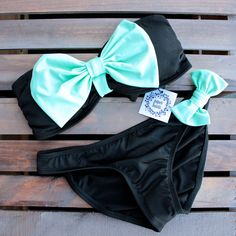 bow bikini bowkini swimwear summer 2014 2015 bathing suit swimsuits swimsuit spring beach bunny beachwear mint cute