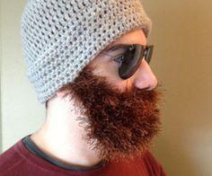 Hand Knitted Beard Hats