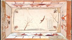 La Tomba del Tuffatore, Museo archeologico nazionale di Paestum Classical Antiquity, Vintage World Maps, Antiques, Painting, Grande, Poet, Museum, Culture, Antiquities