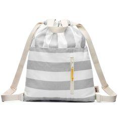 Inspiration: Drawstring bag with adjustable straps
