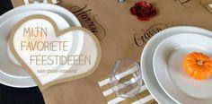 Style my party blog - Mijn favoriete feestideeën - Februari kraftpapier tafelkleden