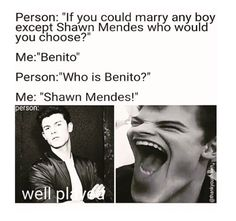I would choose Benito or Matthew Espinosa