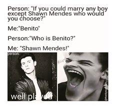 I would choose Benito or Matthew Espinosa
