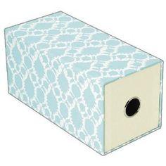 $5 - Thomas Paul Aqua Drawer Box, 4 x 4 x 8 Inches, 1 Box (35715)