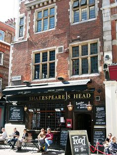 Shakespeare's Head, London