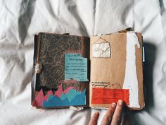Art journal pages are becoming so popular & these are beautiful!