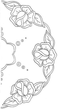 .. Quilting Designs, Cutwork Embroidery, Machine Embroidery, Embroidery Designs, Embroidery Stitches, Flower Embroidery, Craft Patterns, Applique Patterns, Beading Patterns