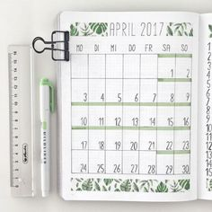 15 Monthly Bullet Journal Spread Ideas That Are Crazy Creative - - Get inspiration for your bullet journal. Monthly bullet journal spread ideas that you need to see! Get inspired, creative and productive this month. Bullet Journal Monthly Log, Bullet Journal Notebook, Bullet Journal Inspo, Bullet Journal Spread, Bullet Journal Ideas Pages, Journal Pages, Bullet Journal Washi Tape, Journal Art, Washi Tape Notebook